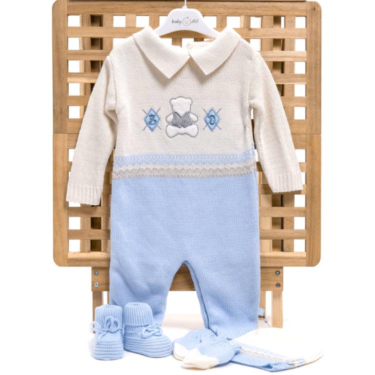 c55a308006b Вязаный комплект BabyDola для мальчика